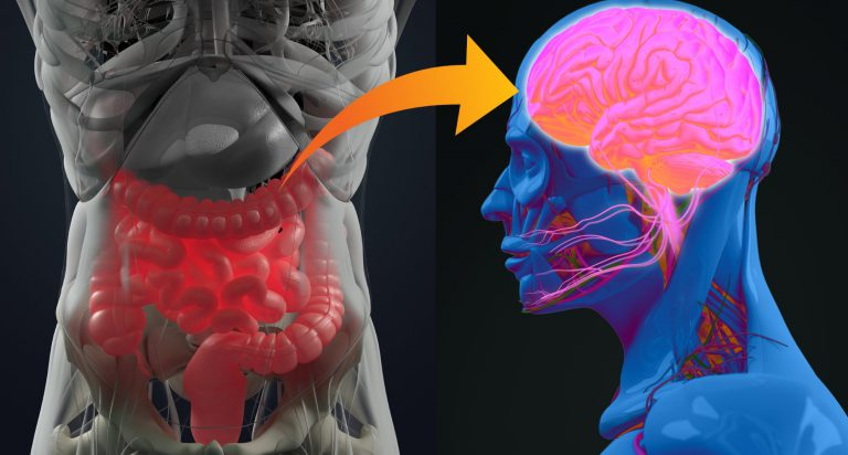 obalanser i tarmfloran kan leda till depression